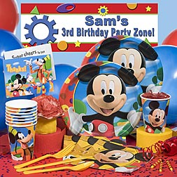 Mickey Mouse Club House Party Theme