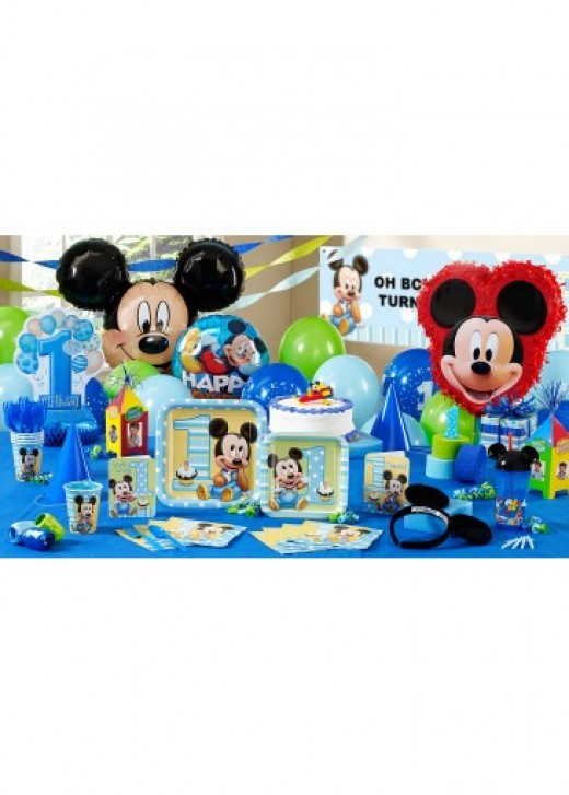 Mickey Mouse Ultimate Birthday Theme Package