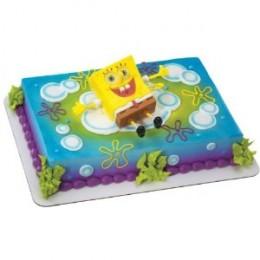 spongebob cake toppers