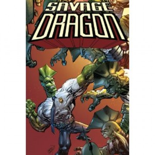 Savage Dragon Dragon War it's all out war as Dragon fights other dragons and things generally don't end well for the Dragon.....A great read!
