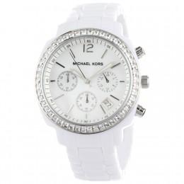 Michael Kors Women's White Ceramic Watch
