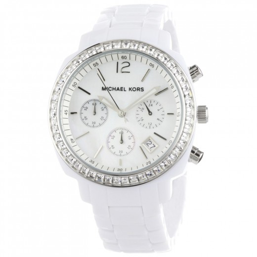 Michael Kors Women's White Ceramic Watch