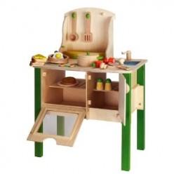 Educo Wooden Toy Kitchen Playset