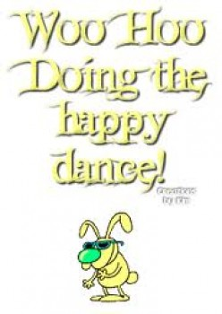 What's your happy dance?