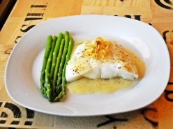 Chilean Sea Bass with Citrus Beurre Blanc
