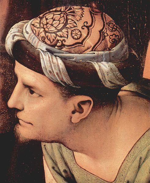 """Joseph of Arimathea"" - by Pietro Perugino (1495) Palazzo Pitti"