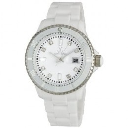 """Toy Watch White - This is the glam white watch that celebrity Sandra Billock wore in the Movie """"The Blind Side"""""""