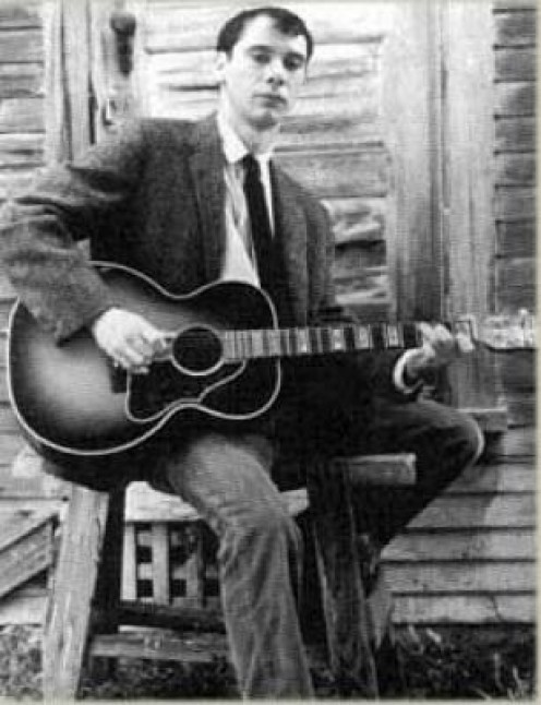 Legendary folk guitarist, John Fahey.