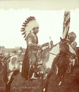 Mounted Omaha Warrior