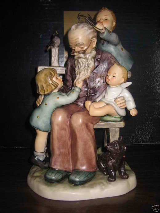 Hummel Figurines- Going to grandfathers