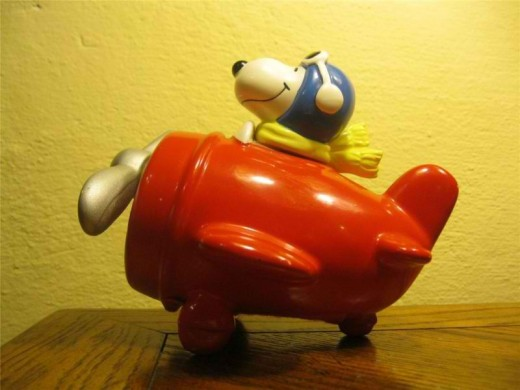 Schmidt Snoopy Music Box