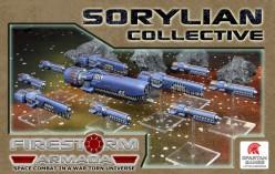 A Sorylian Fleet from Firestorm Armada