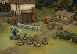 Cygnar v Khador from Warmarchine