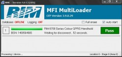 Unlock Blackberry 8-9XX Series With MFI Multiloader