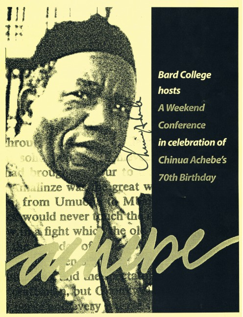 Chinua Achebe is a world-renowned and Nobel Prize-winning novelist, essayist, poet, author of childrens books and longtime professor. He is best known for his first novel and magnum opus, Things Fall Apart, written in 1985.