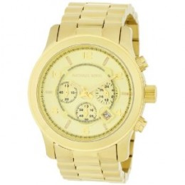 Michael Kors Gold-Tone Chronograph Watch