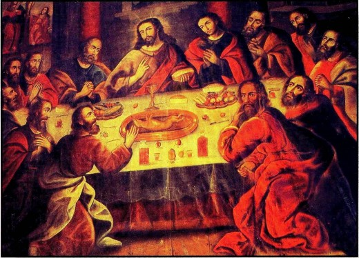 Last Supper by Zapata