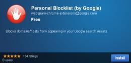 Personal Blocklist Install