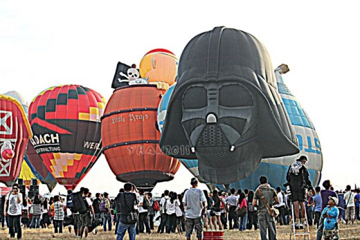 Hot Air Balloon Festival 2011 from Clark, Pampanga, Philippines