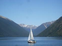 Nelson Lakes National Park, New Zealand.