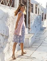 Swishy Cotton Skirt $78