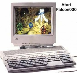 The Atari Falcon was ideal for professional use too
