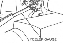 Where to use  the Feeler Gauge