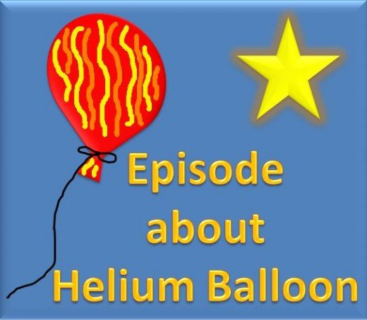 Helium Balloon and Shooting Star
