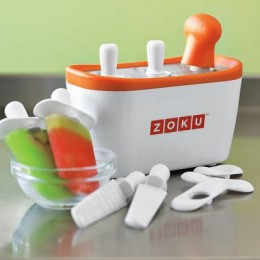 Pop maker completes tasty treats in minutes.