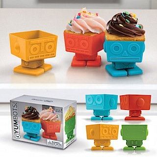 These cupcake holders make a fun party.