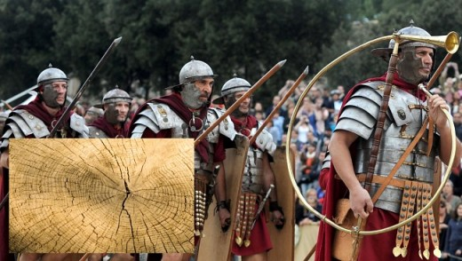 Tree rings tell the researchers that the fall of Rome coincided with the unstable and cold climate.