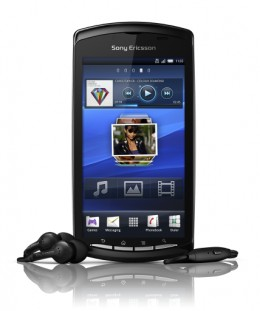 Sony Ericsson Xperia Play (front)