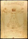 Da Vinci's depiction of man