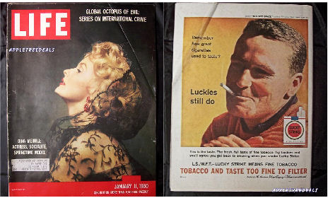 Old Vintage LIFE magazines - January 11, 1960 - Dina Merrill and Nixon, Rockefeller and a series on International Crime
