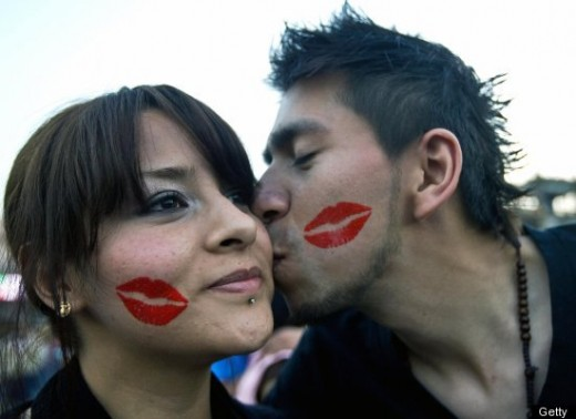 "South America celebrates  Da del Amor y la Amistad, or ""Day of Love and Friendship."""
