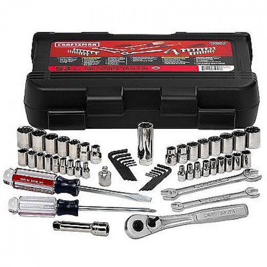 Craftsman 53 pc. Mechanics Tool Set