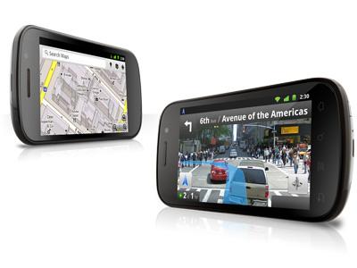 Google Maps 5.0 is preloaded in Google Mobile