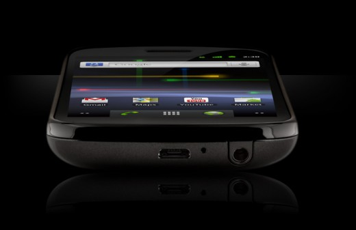 Nexus S the new Google Mobile with true Contour Display