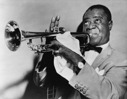 Satchmo the great! Image from Wikipedia