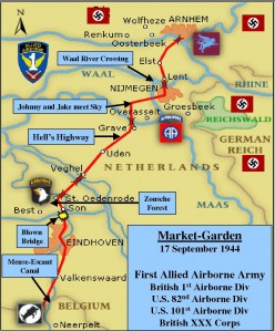 Operation Market Garden Map