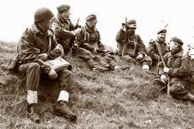 British troops at Arnhem 1944