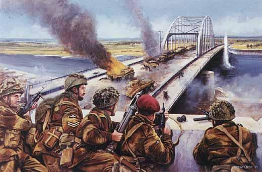 British 1st Airborne at Arnhem Bridge