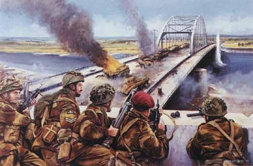 British 1st Airborne at Arnhem Bridge