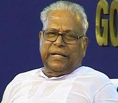 Chief minister of Kerala, V.S. Achuthananthan