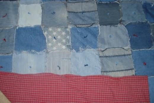 A Ralph Lauren sheet made for a beautiful back!