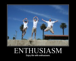THE KEY OF ENTHUSIASM
