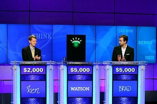 Watson beats 'em in Jeopardy!