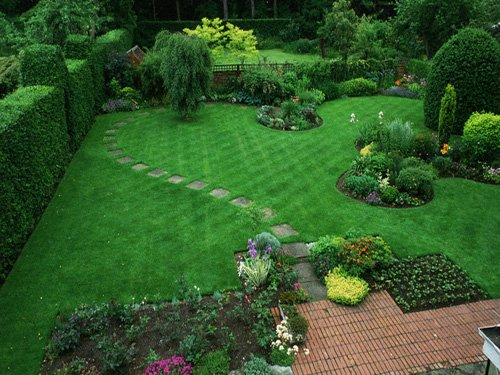 use Scotts turf builder grass seed for a beautiful lawn