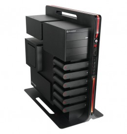Thermaltake Level 10 Aluminum ATX Super Full Tower Gaming Station Computer Case VL30001N1Z