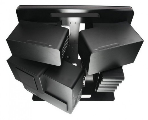 From the Manufacturer: Open Compartment Architecture enables the gamer a unique way to experience the power of the high performance equipment and increases the usability